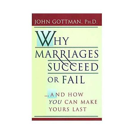 Why Marriages Succeed or Fail And How To Make Yours Last